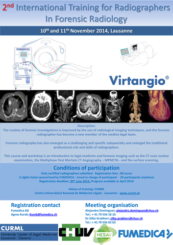 2nd International Training for Radiographers In Forensic Radiology