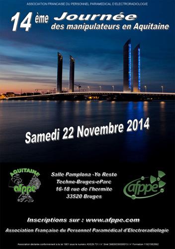 14ème Journée de formation des manipulateurs en Aquitaine