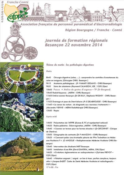 17ème Journée de formation régionale - Région Bourgogne-Franche-Comté