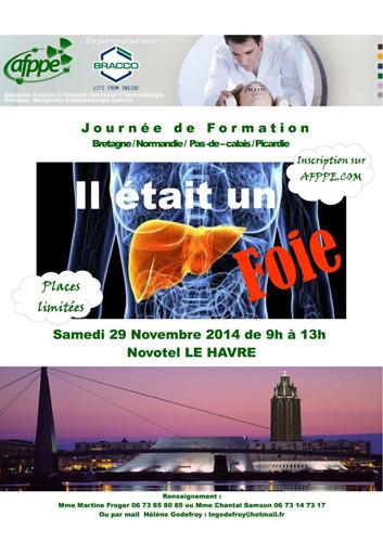 Journée de Formation Région Normandie : Il était un foie