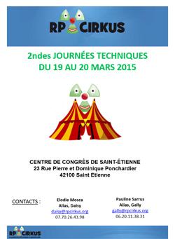 2èmes Journées Techniques du Cirkus