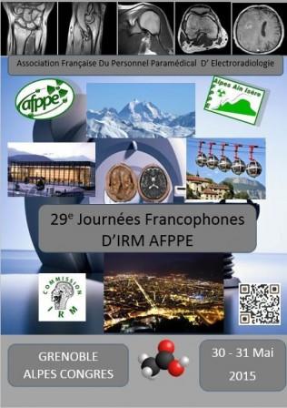 29èmes Journées Francophones d'IRM