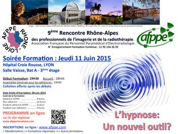 9 ème Rencontre Rhône-Alpes des professionnels de l'imagerie et de la radiothérapie