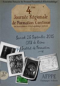 4ème Journée de Formation Continue AFPPE Champagne-Ardenne