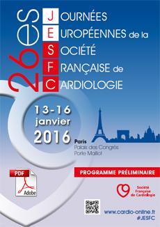26ème journées européennes de la société française de cardiologie