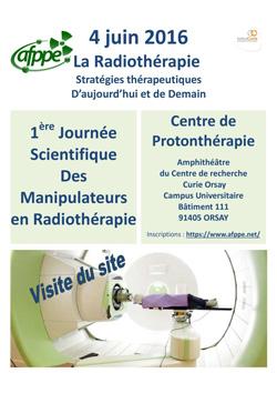 1ère Journée Scientifique des manipulateurs de Radiothérapie
