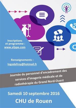 Journée de formation du personnel d'encadrement des services d'imagerie médicale et de radiothérapie du Grand Nord-Ouest