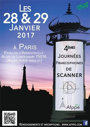 4èmes Journées Francophones de Scanner de l'AFPPE