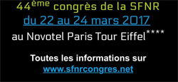 44ème Congrès de la SFNR