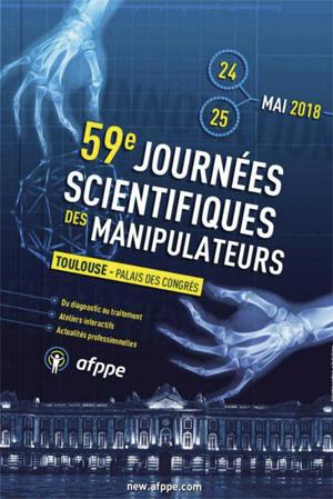 59èmes Journées Scientifiques des Manipulateurs