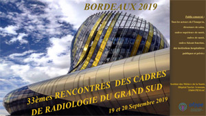 33ème Rencontres des Cadres de Radiologie du grand sud