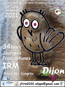 34èmes Journées Francophones d'IRM