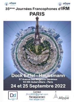 35èmes Journées Francophones d'IRM